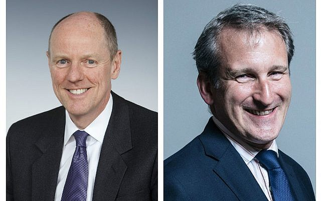 Education Minister Nick Gibb MP and Education Secretary Damian Hinds MP