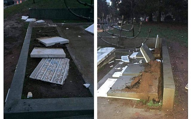 Ioannis Boutaris, mayor ofThessaloniki, posted a picture of the vandalism online.