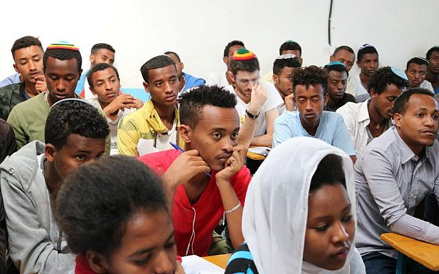 Ethiopian Jews learn Hebrew as they await Aliyah