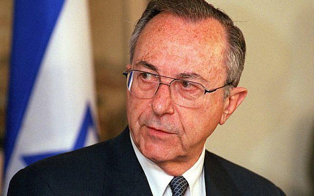 Moshe Arens (Wikipedia. Author: Helene C. Stikkel)