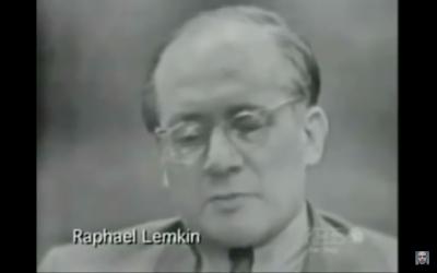 RaphaelLemkin (Screenshot from youtube)