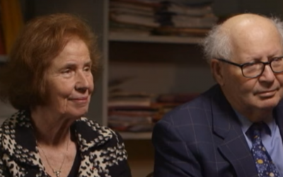 Serge and Beate Klarsfeld (YouTube screenshot)