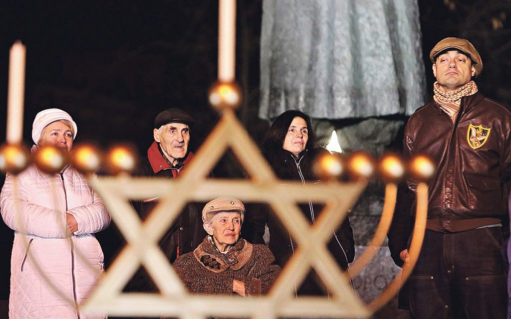 One man's aim to honour those who helped Ukraine's Jews in the Shoah