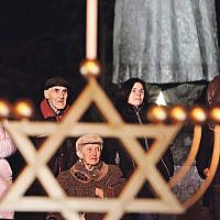 Chanukah in Ukraine