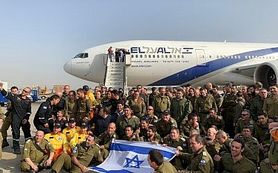 Israeli army troops head to Brazil to help save lives after the dam collapse. (Photos courtesy ZAKA)