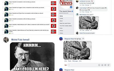 Among antisemitic comments and images posted on social media posts about the story included pictures of Nazi dictator Adolf Hitler and swastikas
