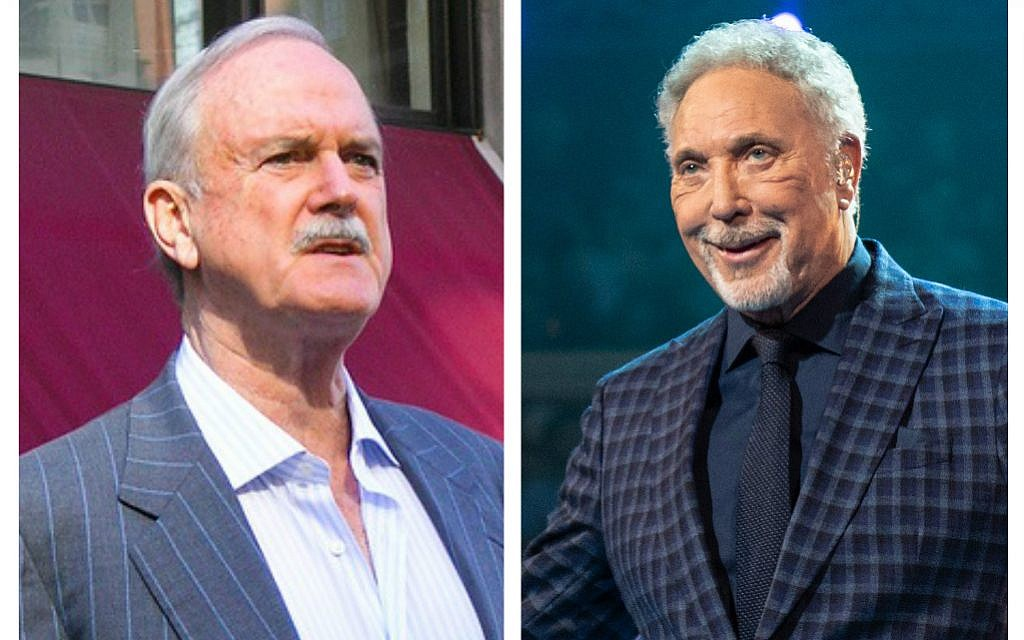 'BDS has ceased to be'! John Cleese and Tom Jones to perform in Israel