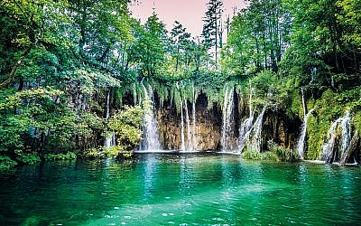 The magnificent Plitvice lakes