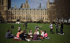 Victoria Tower Gardens in Westminster, London. Photo credit: Anthony Devlin/PA Wire