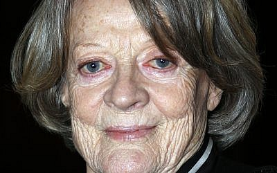 Dame Maggie Smith who will be returning to the stage for the first time in 12 years to play Brunhilde Pomsel,personal secretary to Nazi politician Joseph Goebbels. Photo credit: Jonathan Brady/PA Wire