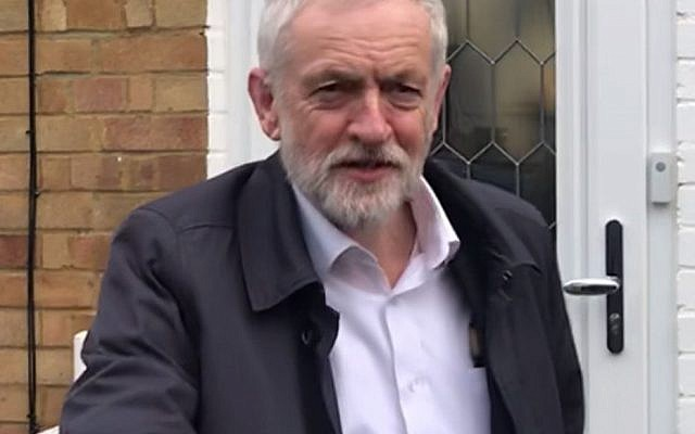 Jeremy Corbyn leaves his home this morning as speculation mounts (photo credit: PA Wire)
