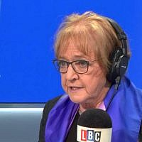Margaret Hodge on LBC