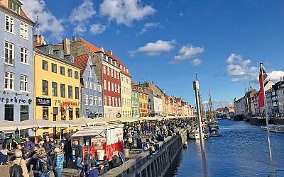 Beautiful colourful Copenhagen
