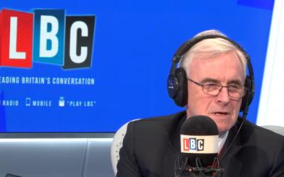John McDonnell on LBC