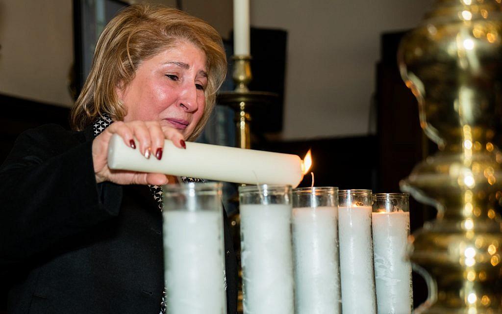 Samira Elias. In memory of her brother Hesqel Salih Hesqel and sister Suad Kashkush  (Credit: MART Photography-Tammy Kazhdan)