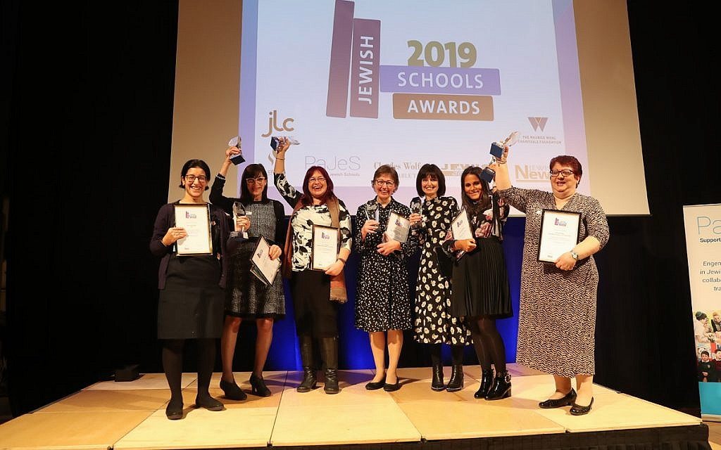 Our winners! Celebrating our top teachers at the Jewish Schools Awards (Marc Morris Photography)