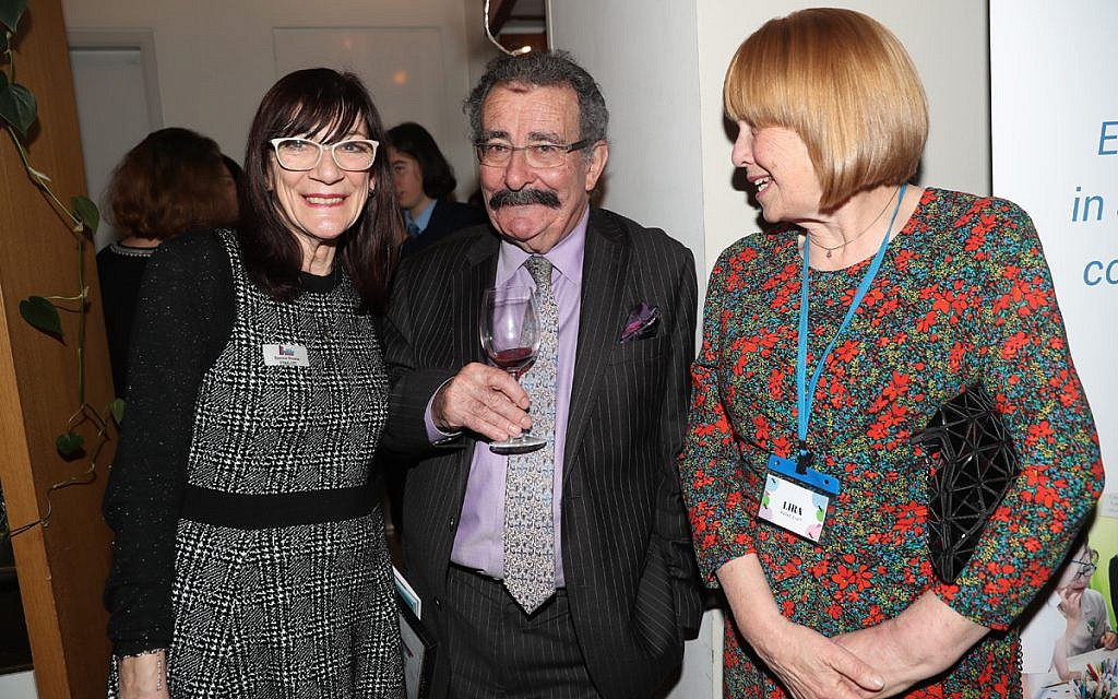 Lord Winston (centre) at the Jewish Schools Awards (Marc Morris Photography)