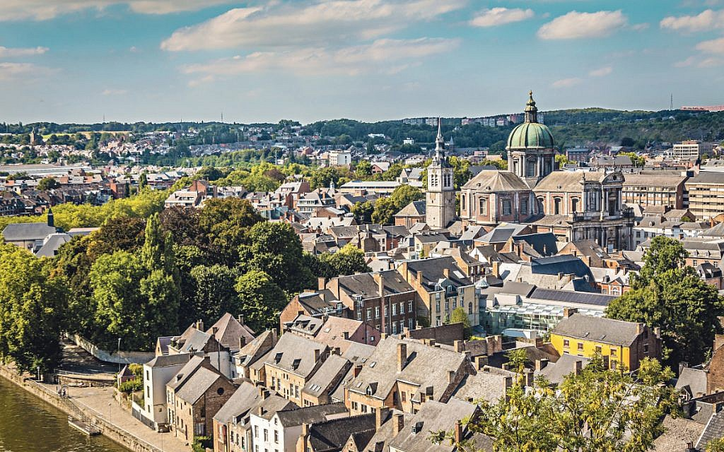The French-speaking city of Namur in Belgium