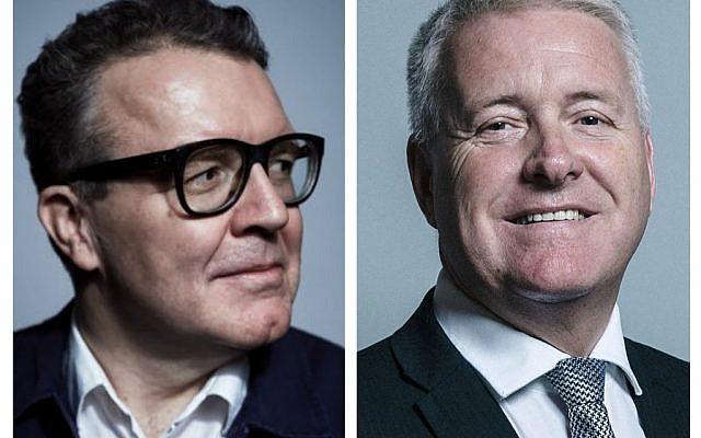 Tom Watson and Ian Lavery