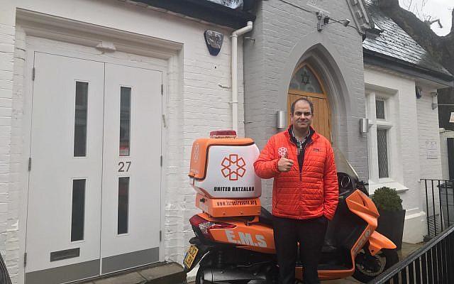 Eli Beer with an Ambucycle