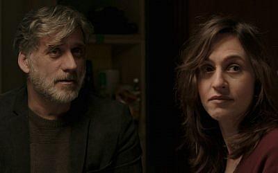Lior Ashkenazi stars with Sarah Adler in Foxtrot