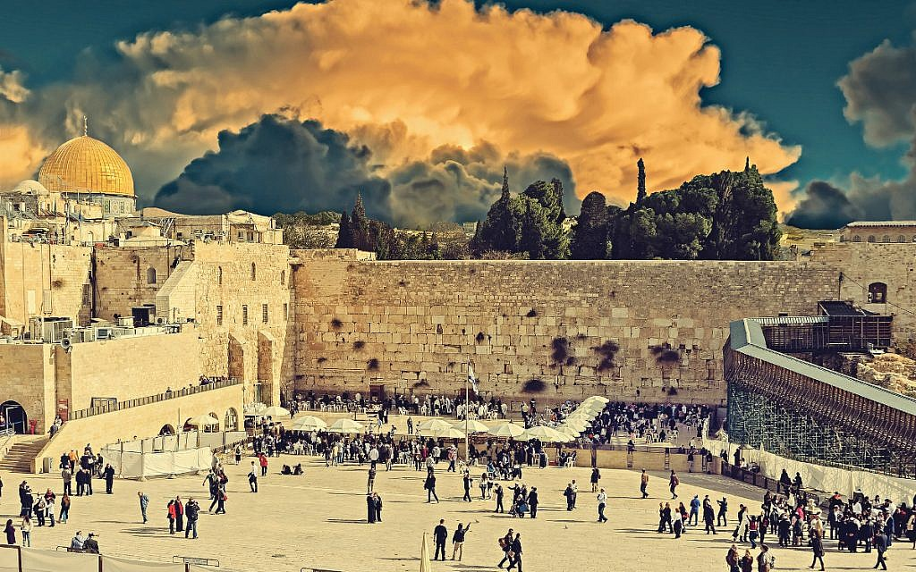 Jerusalem, which is special to the three Abrahamic religions.