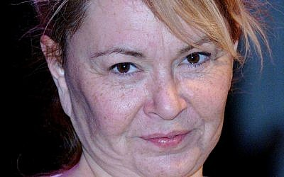 US actress and comedian Roseanne Barr/ Photo credit: Steve Parsons/PA Wire