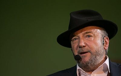 George Galloway. Photo credit: Daniel Leal-Olivas/PA Wire