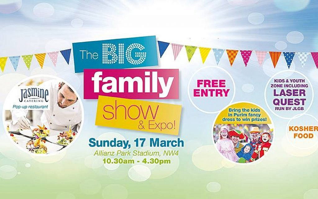 Come to the Big Family Show!  https://www.facebook.com/events/284935938887199/