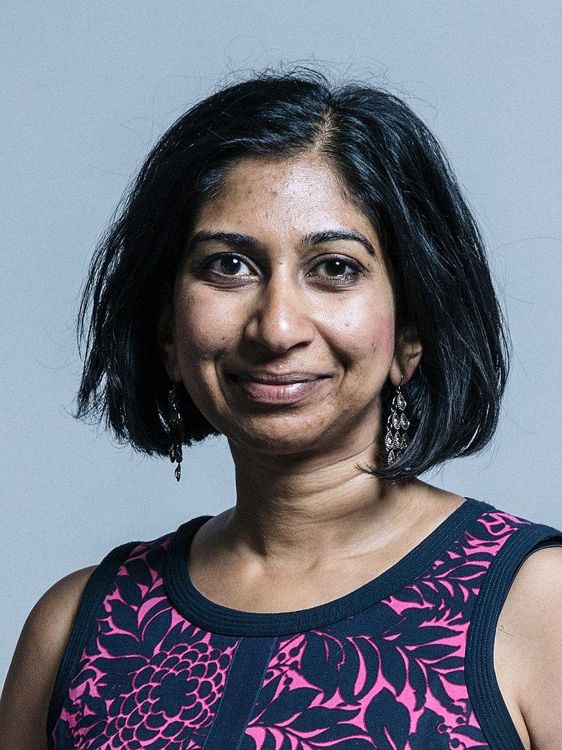 Conservative MP Suella Braverman criticised for using anti