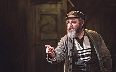 Andy Nyman stars as Tevye's in Trvor Nunn's production of Fiddler On The Roof
