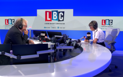 Commissioner Cressida Dick on LBC Radio