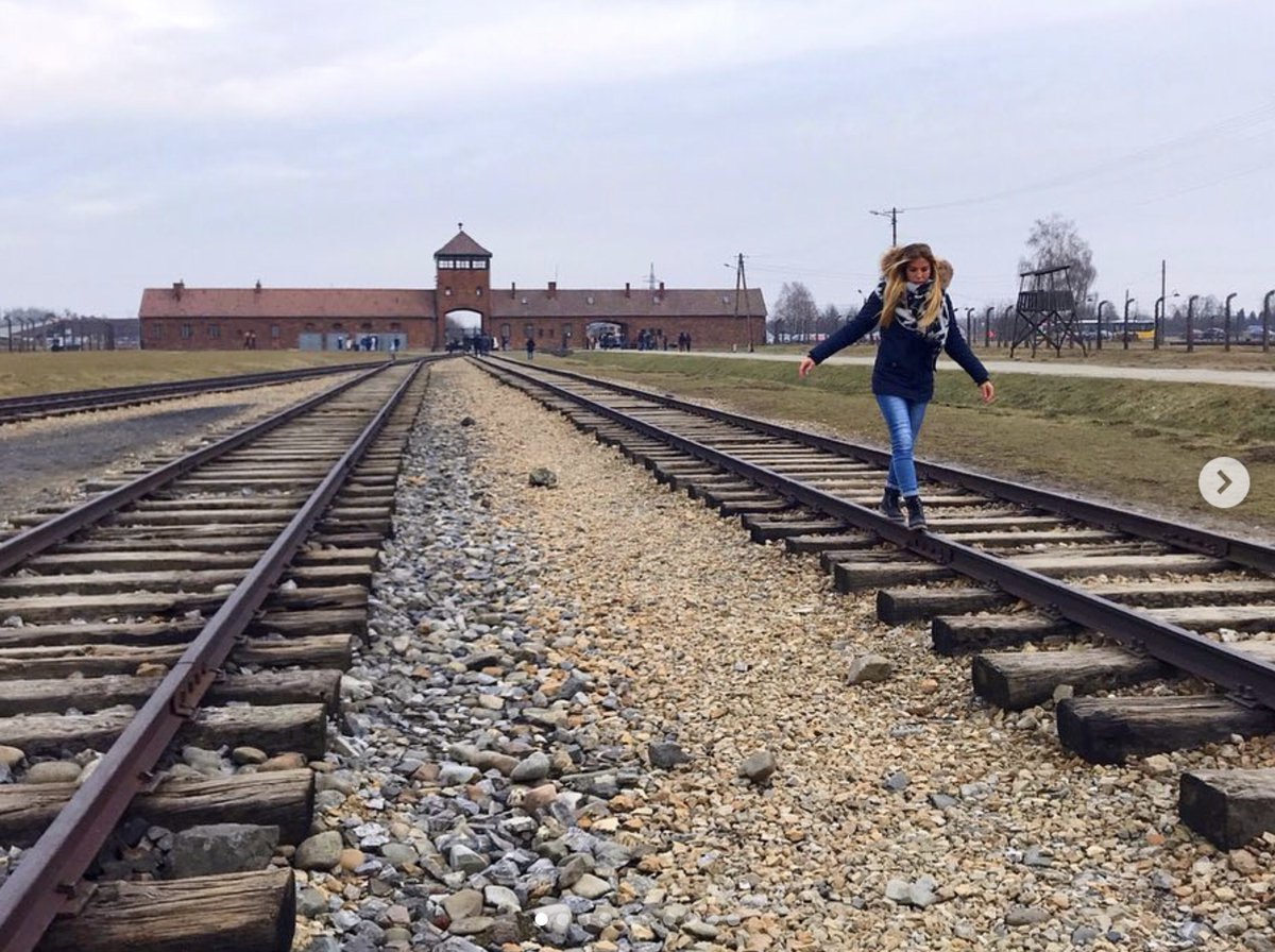 Auschwitz Memorial asks visitors to stop taking disrespectful photos at the camp