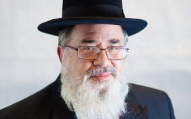 Dayan Yisroel Lichtenstein