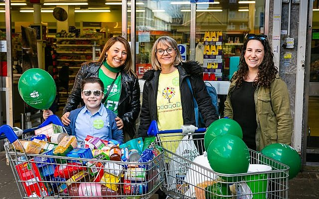 GIFT Hendon food collection with Laura Marks and Georgina Bye