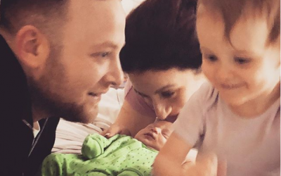 Luciana Berger has named her son Zion Benjamin Manny Goldsmith (Luciana Berger on Instagram)