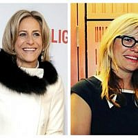 Emily Maitlis and Emma Barnett