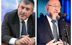 Rabbi Mizrachi and the Chief Rabbi