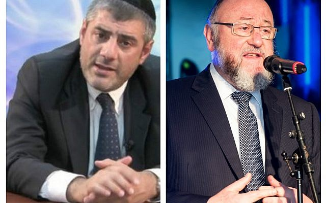 Rabbi Mizrachi and the Chief Rabbi