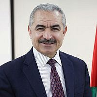 Mohammad Shtayyeh, Palestinian Authority PM (Wikipedia/Montaser.pal)