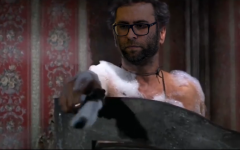 Clip from Oren Hazan's parody video where he kills  Balad MK Jamal Zahalka.