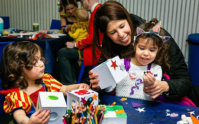Purim and Sadaqa Day party at Jewish Museum (Yakir Zur)