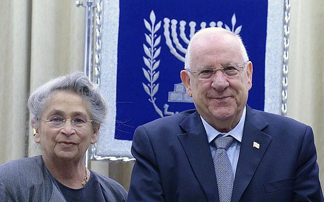 Reuven and Nechama Rivlin