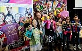 Rachel Riley and Nick Ferrari with kids at the Big Family Show and Expo 2019 (Leivi Saltman Photography)