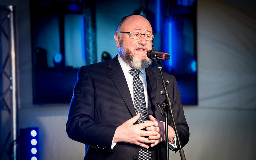 Chief Rabbi: Humanists 'seek out opportunities to attack' Judaism