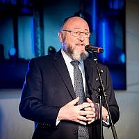 Chief Rabbi Mirvis (Leivi Saltman Photography)
