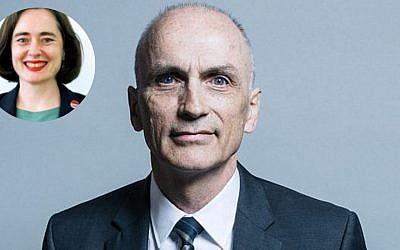 Councillor Jo Bird and MP Chris Williamson