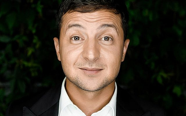 Volodymyr Zelensky, elected president of Ukraine in in 2019 (Credot: Kvartal95 official/ Wikipedia)