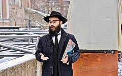 Chief Rabbi of Estonia Shmuel Kot. (Facebook via Times of Israel)