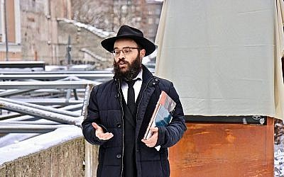 Chief Rabbi of Estonia Shmuel Kot. (Facebook via Times of Israel)